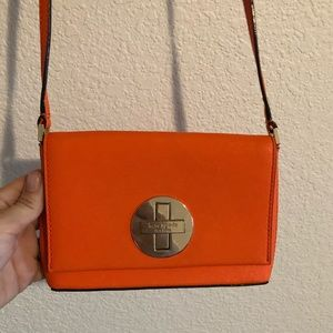 kate spade orange crossbody handbag